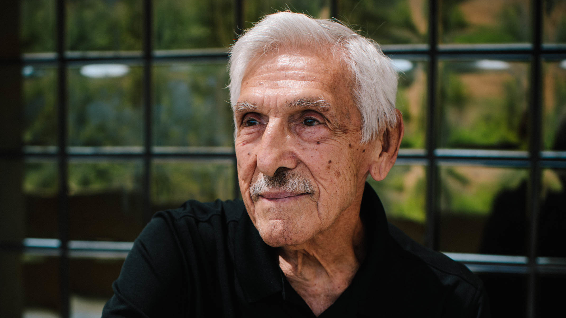 """Bob Orozco, 89, has been in fitness his entire adult life. He began working for the Laguna Niguel YMCA in 1984 and leads the Silver Sneakers Club, a free fitness program for Medicare beneficiaries. """"I probably will work until something stops me,"""" Orozco says."""