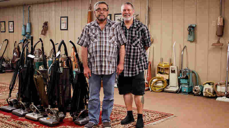 'You Get Swept Up': A Story Of Love, Passion — And Vacuum Cleaners