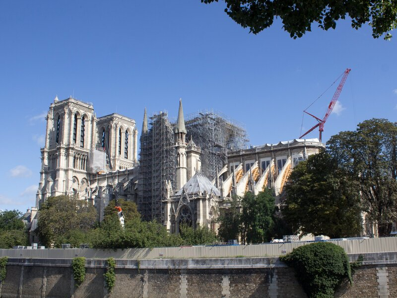 What Will A Reconstructed Notre Dame Look Like The Answer Is Up