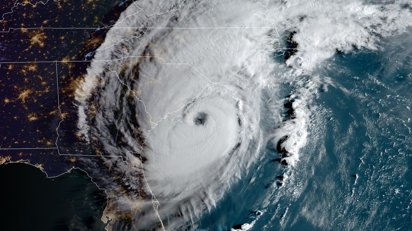 Hurricane Dorian, Again Category 2, Is Hitting Carolinas With 'Serious' Strength