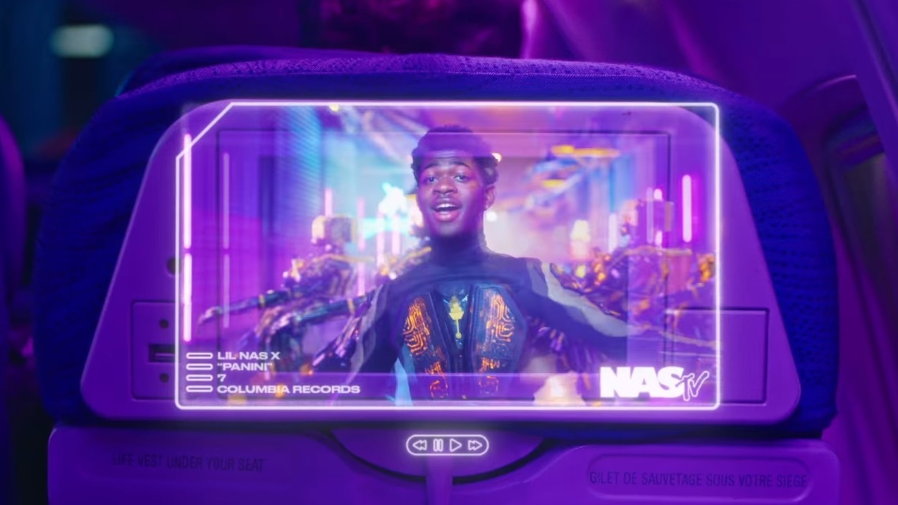 Lil Nas X Drops Futuristic New Video For Panini Featuring Skai Jackson