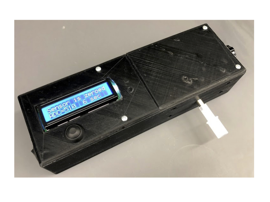 University of Pittsburgh researchers developed a prototype device that can measure the amount of THC in a person's breath. (Courtesy of the University of Pittsburgh)