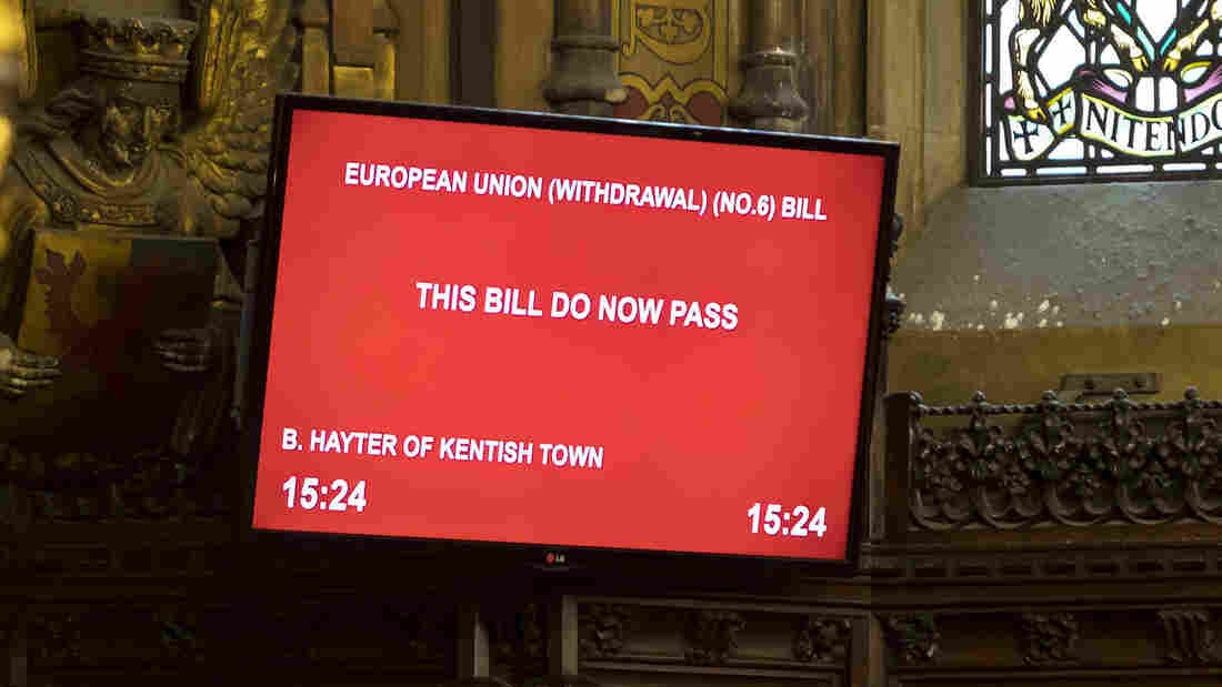 British parliament to be prorogued Monday night