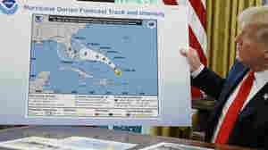 NOAA Contradicts Weather Service, Backs Trump On Hurricane Threat In Alabama