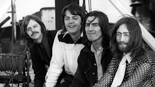 The band, photographed in 1969. The photo is just one of the images included in the upcoming 50th anniversary edition of Abbey Road.