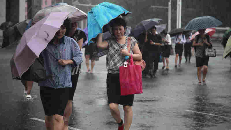 Typhoon Lingling Makes Landfall In North Korea After Wreaking Havoc In South Korea