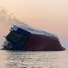 4 Crew Members Still Missing After Cargo Ship Overturns Near Georgia Port