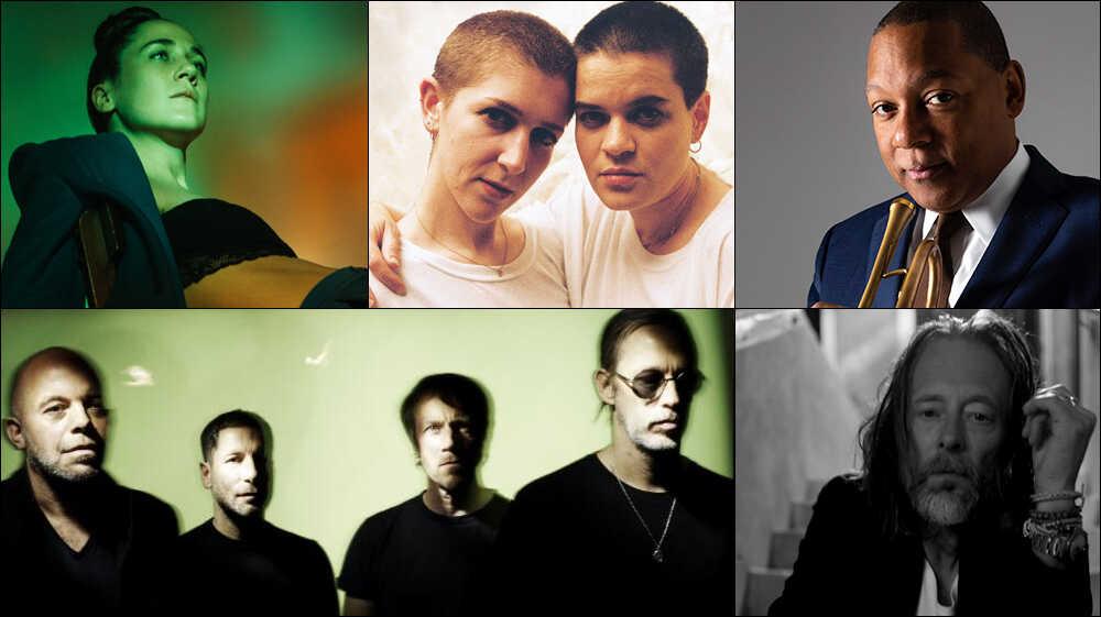 New Mix: Thom Yorke, Wynton Marsalis, Ride, Overcoats, More