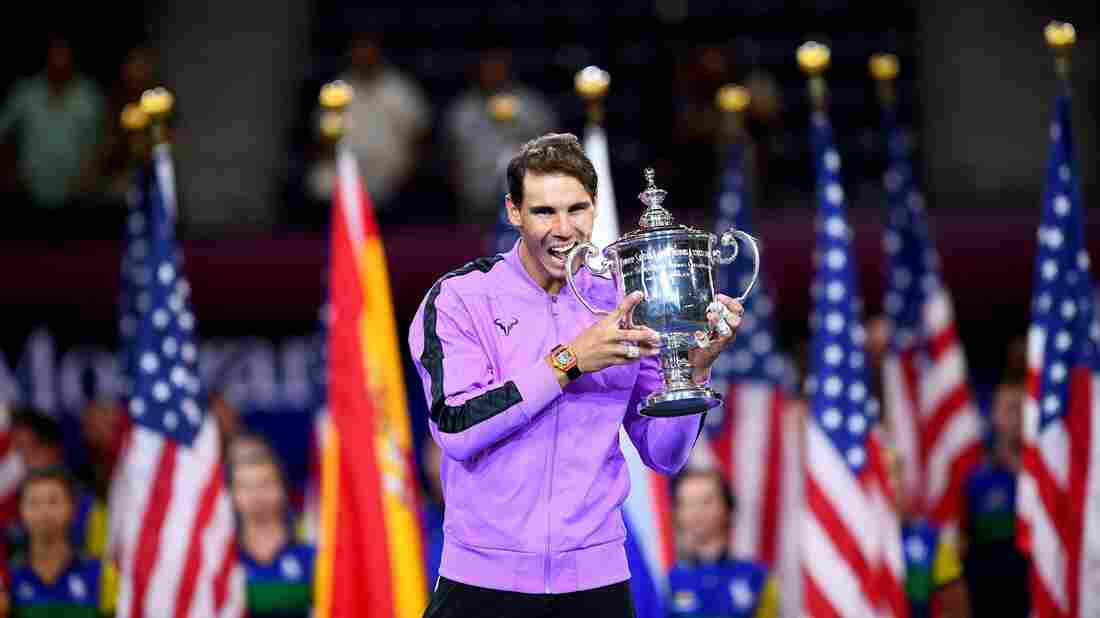 Westlake Legal Group gettyimages-1166897949_wide-6000332fe8b621a1a7a1ad2a3d4d673aba229338-s1100-c15 Rafael Nadal Claims His 19th Grand Slam Title With U.S. Open Triumph
