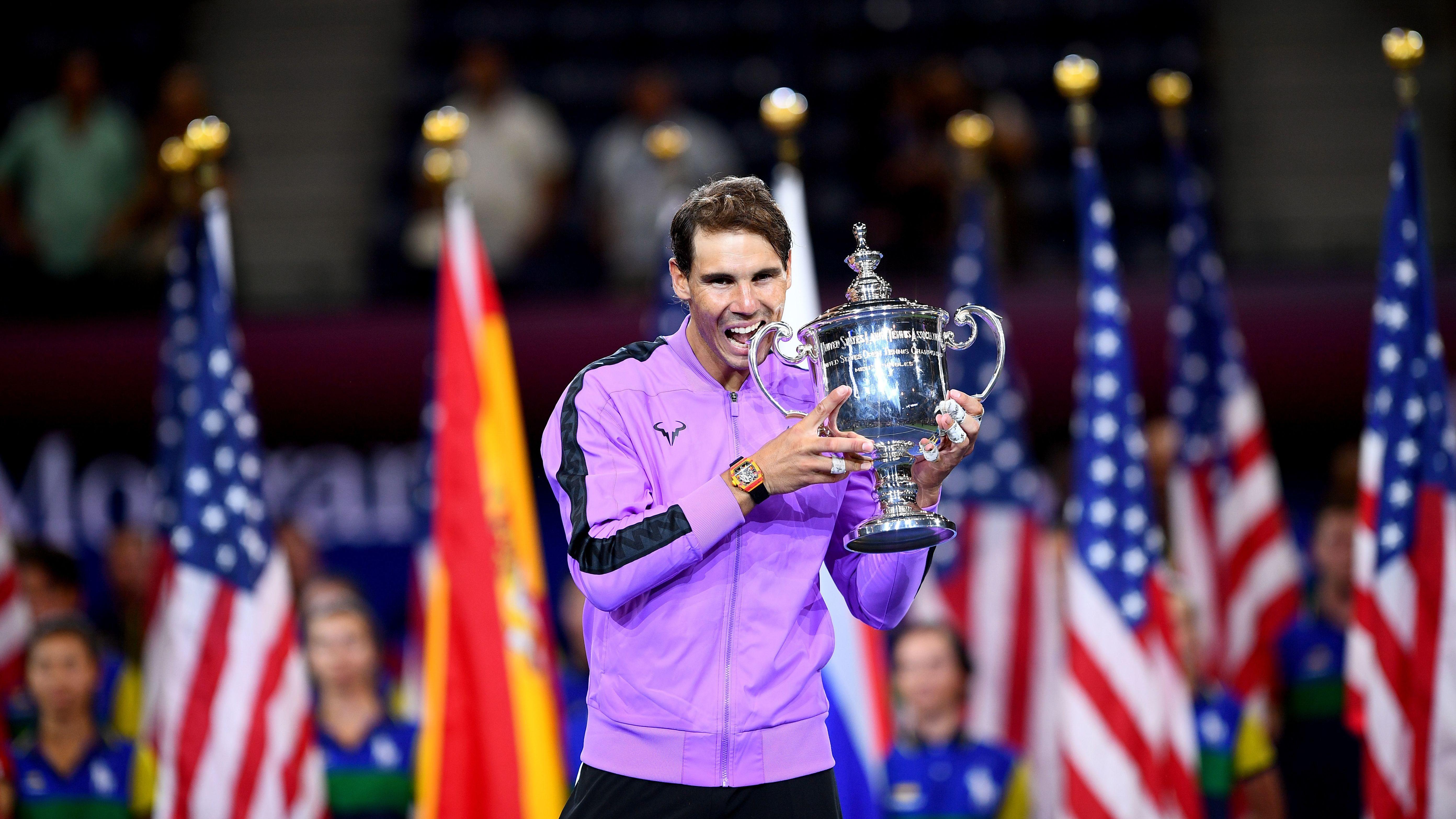 Nadal Defies Inspired Medvedev in Five-Set Epic to Win US Open