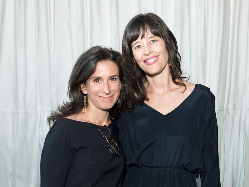 Journalists Jodi Kantor and Megan Twohey attend the Brilliant Minds Initiative dinner at Gramercy Park Hotel Rooftop on May 1, 2018 in New York City. (Noam Galai/Getty Images)