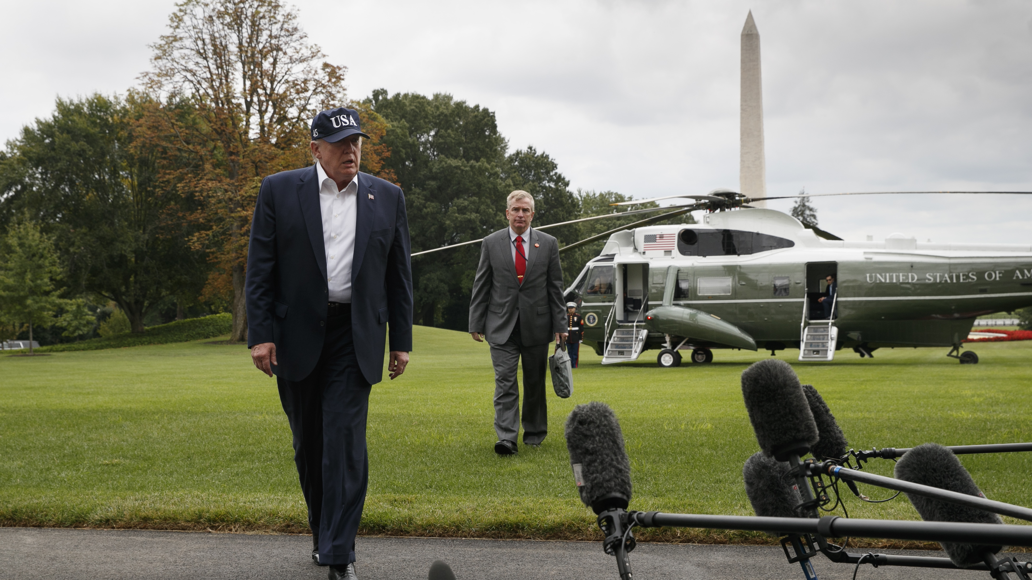 At Camp David, Trump Sought The Mantle Of History. But Afghanistan Is Different