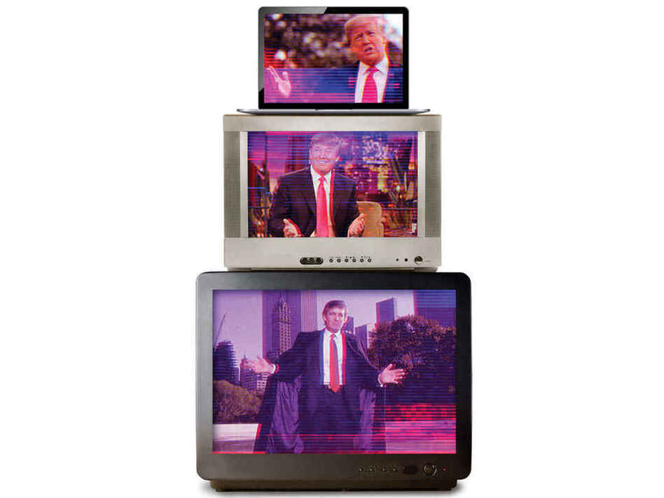 <em>Audience of One: Donald Trump, Television, and the Fracturing of America,</em> by James Poniewozik (Liveright)