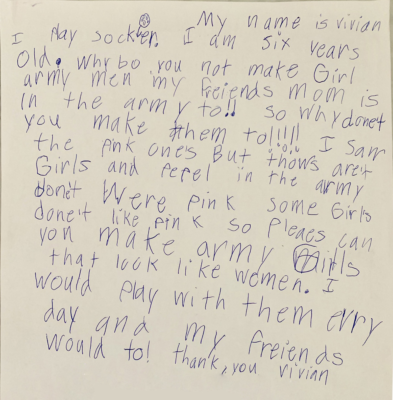 Her Own Toy Story: How A 6-Year-Old Girl's Letter Launched