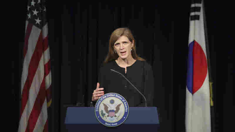 Samantha Power Tells Of The Not-So-Simple 'Education Of An Idealist'