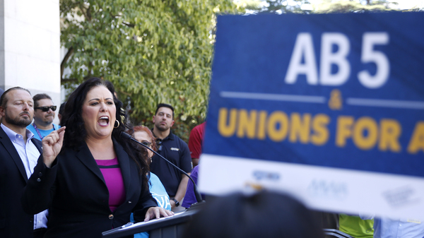 photo image California Lawmakers Advance Bill To Redefine And Protect Gig Workers