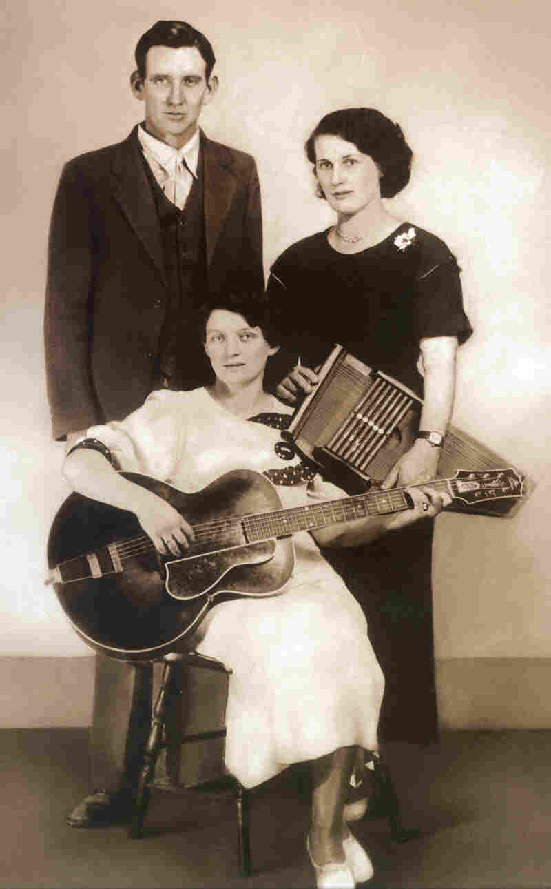 The Carter Family. From left: A.P., Maybelle, and Sara Carter, c.1930.