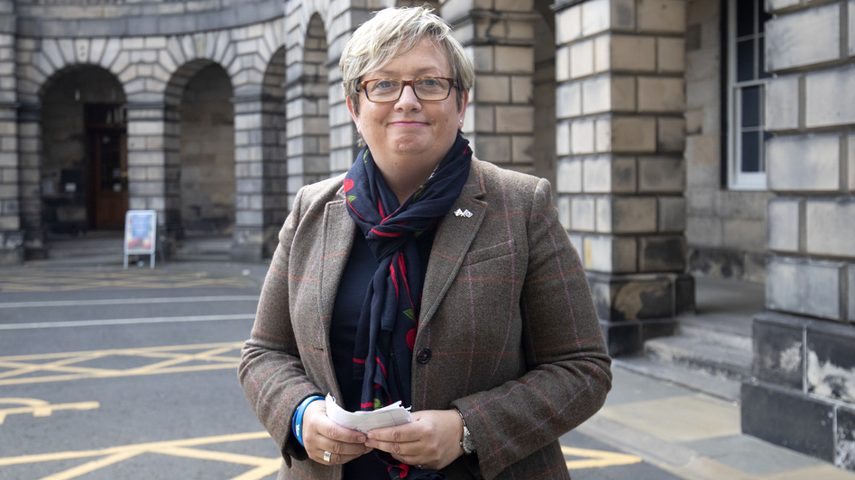 Member of Parliament Joanna Cherry and dozens of allies won a decision from Scotland's Court of Session, which ruled that Prime Minister Boris Johnson's suspension of Parliament is illegal. Cherry is seen here outside the court last month. (Jane Barlow/PA Images via Getty Images)