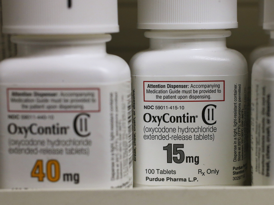 Purdue Pharma, owned by members of the Sackler family, has tentatively struck a deal that would settle thousands of lawsuit brought by municipal and state governments alleging that the drug maker helped fuel the country's deadly opioid crisis. (George Frey/Bloomberg via Getty Images)