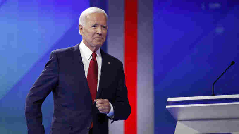 Biden Tries To Clarify His Record On Iraq War During Democratic Debate