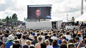 In 'Permanent Record,' Edward Snowden Says 'Exile Is An Endless Layover'