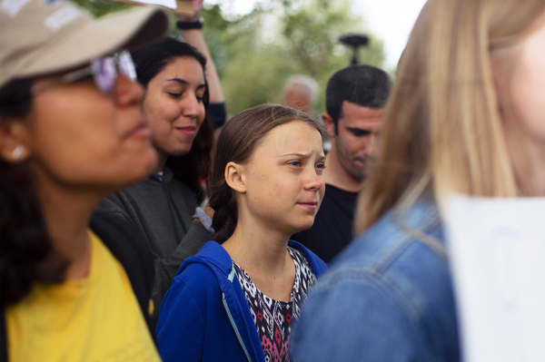 Greta Thunberg To U.S.: 'You Have A Moral Responsibility