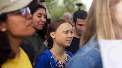Greta Thunberg To U.S.: 'You Have A Moral Responsibility' On Climate Change