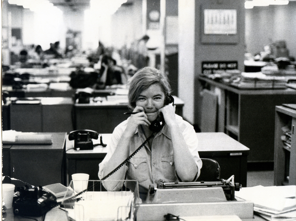 Following her time at the Texas Observer, Ivins had a stint in the newsroom of The New York Times from 1976-82.
