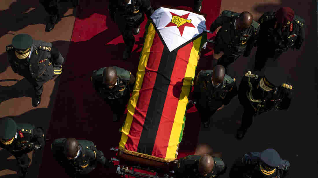 African leaders eulogise Mugabe at state funeral