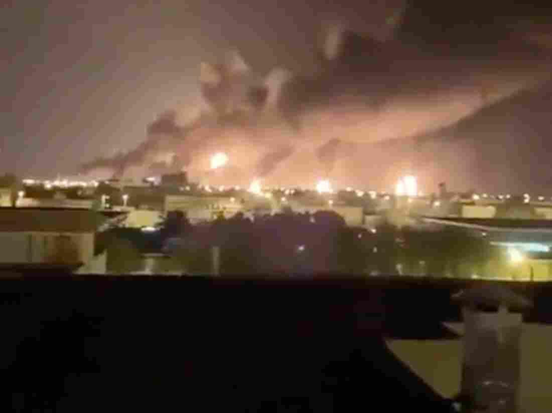Westlake Legal Group saudi-ae7e5f61a75e93f04737080ea610315fe56cdbf0-s1100-c15 Houthi Drone Strikes Disrupt Almost Half Of Saudi Oil Exports