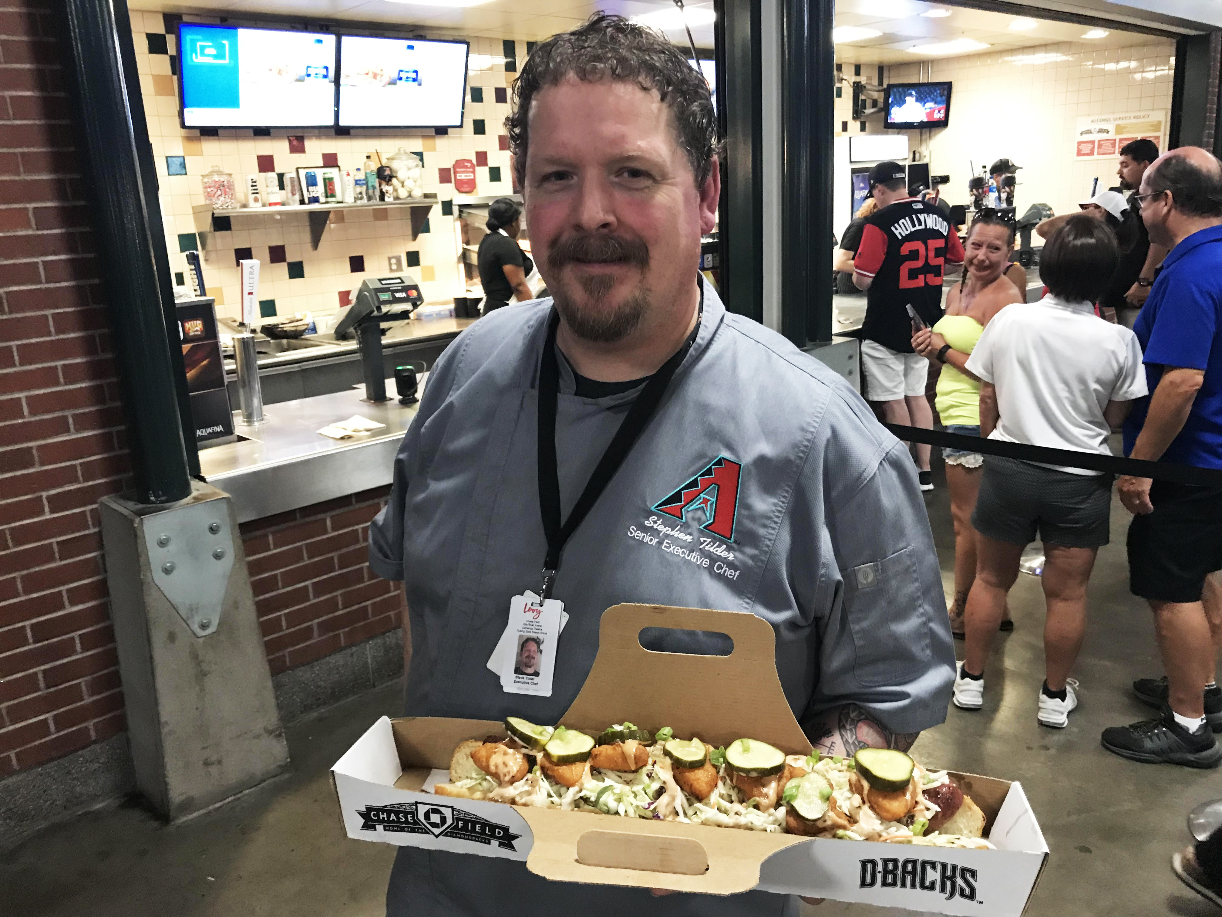 For Arizona Baseball Fans, A Stadium Bratwurst Meant To 'Blow Their Mind'