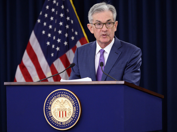 Federal Reserve Chairman Jerome Powell has said he's not predicting a recession, but the trade war could hurt business spending.