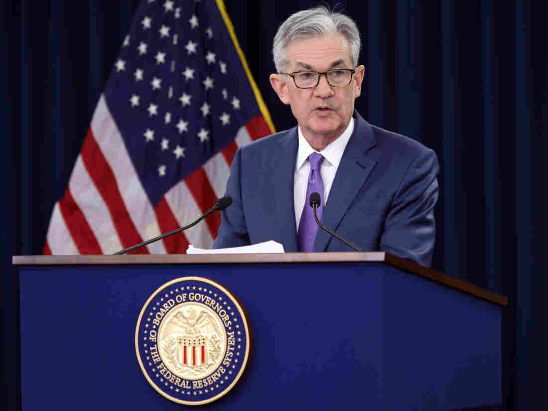 President Trump says Fed Chair Powell's job is 'safe'