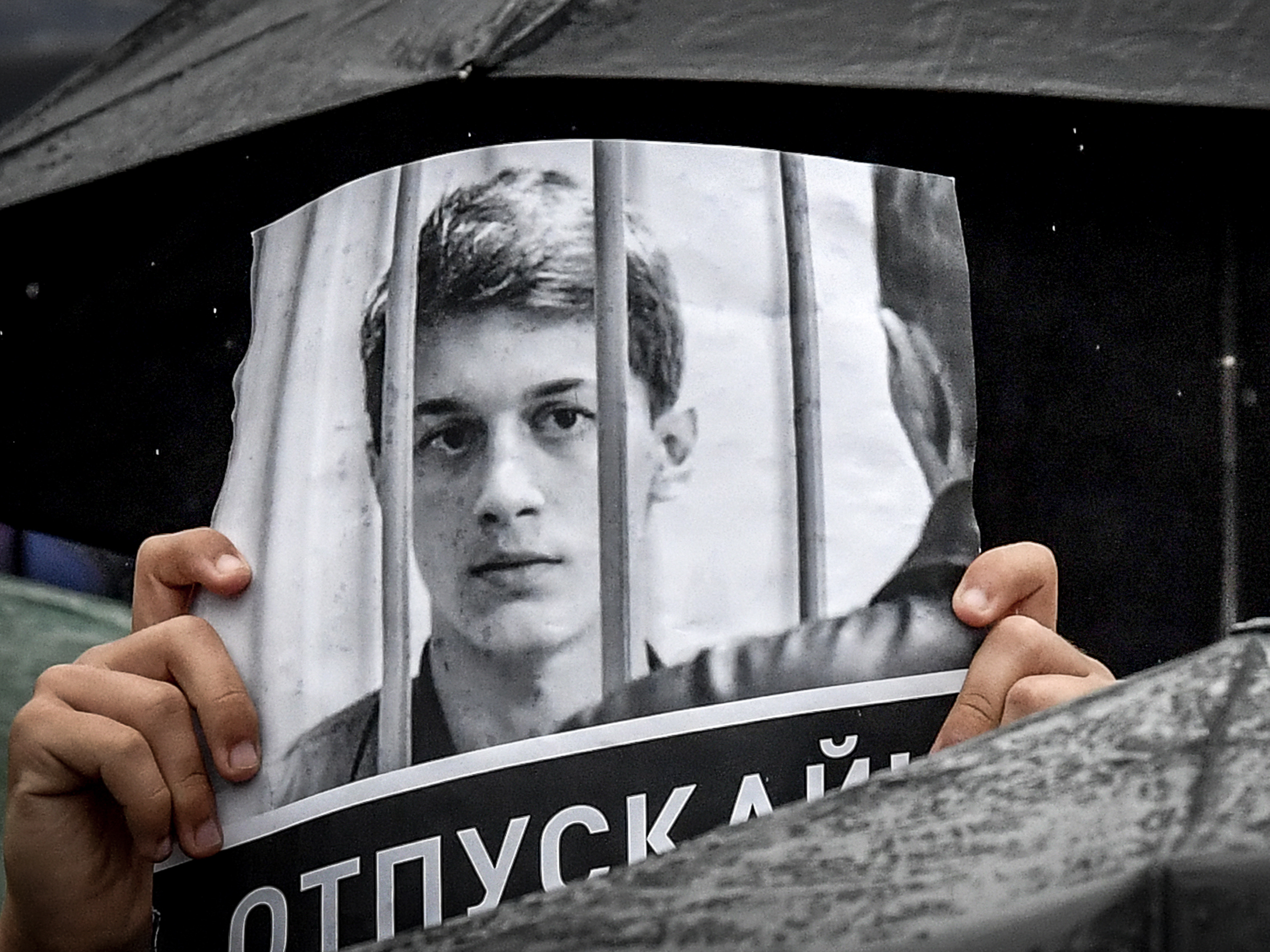 The Russian Student Who Has Become Moscow's New Face Of Dissent