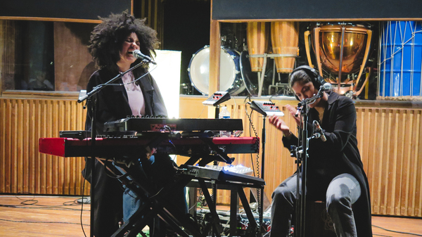 Ibeyi performs live in Paris for World Cafe.