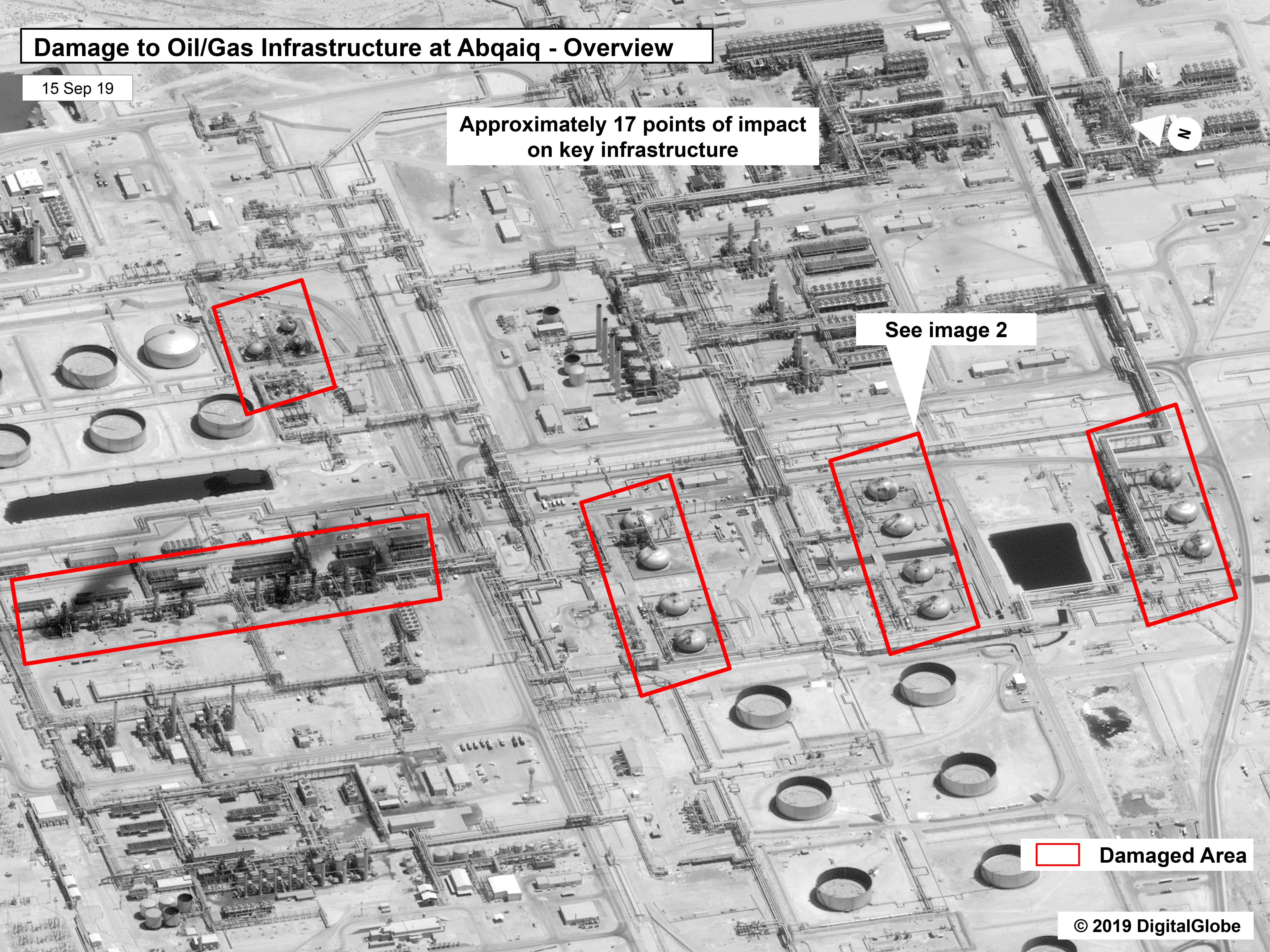 U.S. Satellites Detected Iran Readying Weapons Ahead Of Saudi Strike, Officials Say