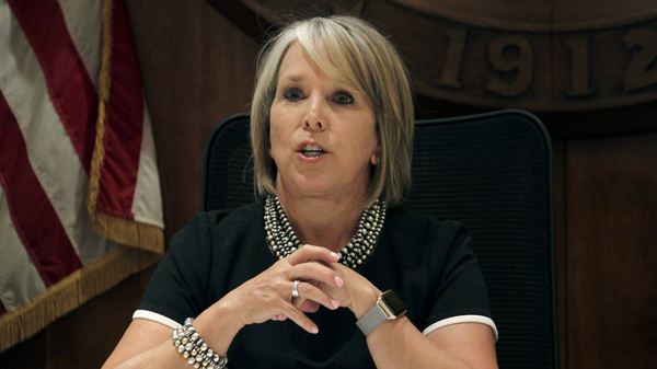 New Mexico Gov. Michelle Lujan Grisham announced a plan on Wednesday to provide free tuition in all of the state