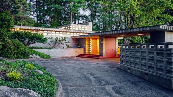 The Toufic H. Kalil house in Manchester, N.H. is one of only seven Usonian Automatic buildings ever constructed.