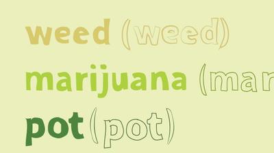 Pot? Weed? Marijuana? What Should We Call It?