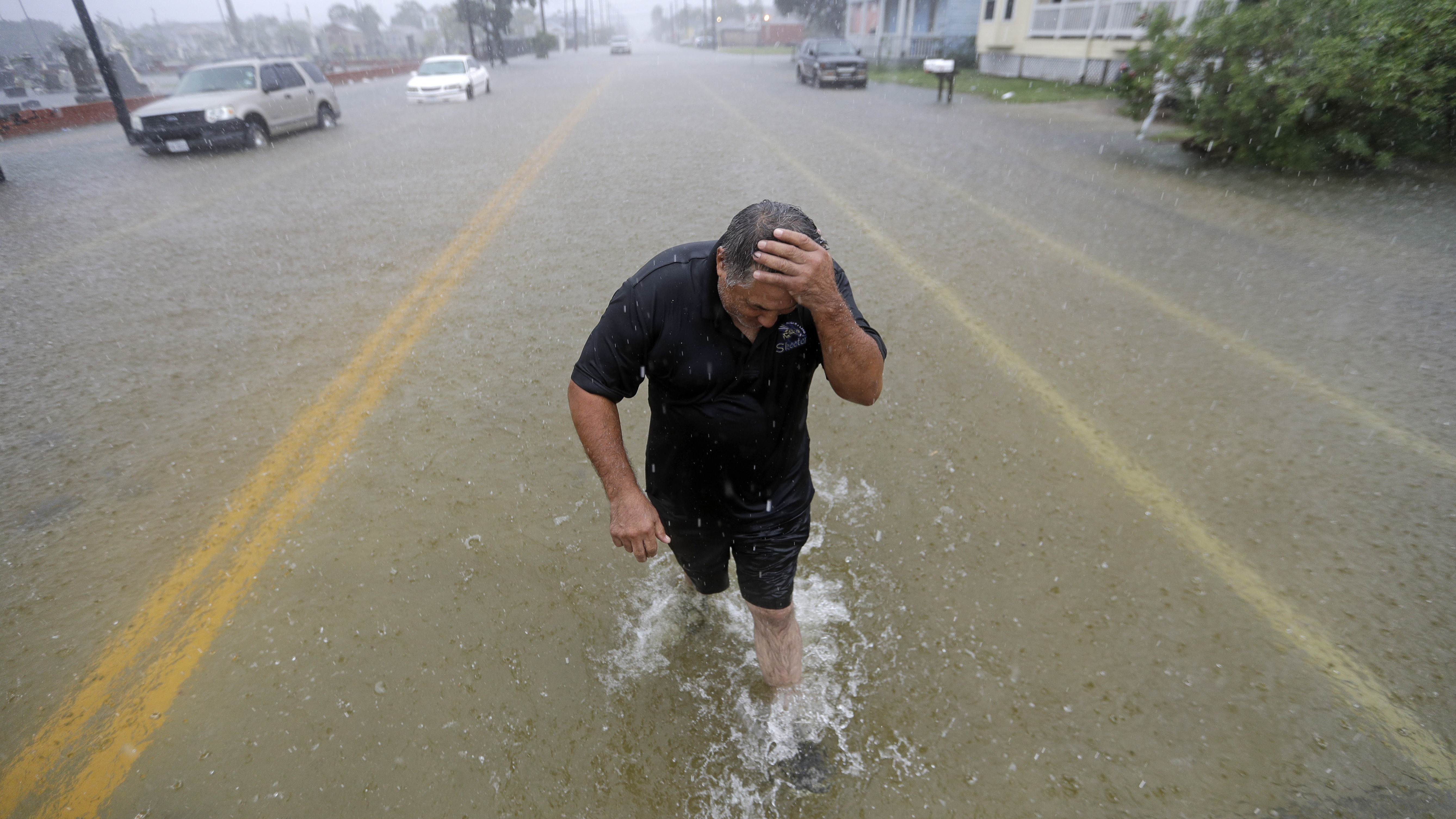 'Major, Catastrophic Flooding' In Southeast Texas From Imelda, Weather Service Warns