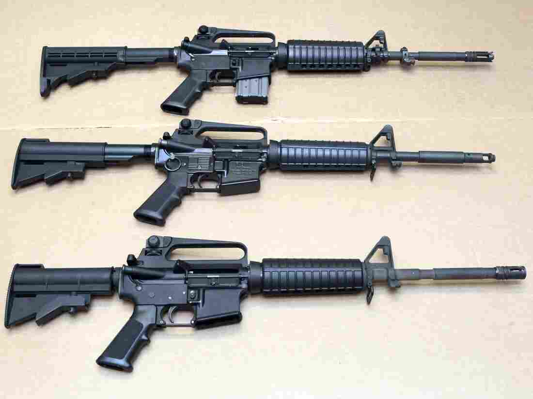 USA weapons company Colt suspends sales of AR-15 rifles for civilians