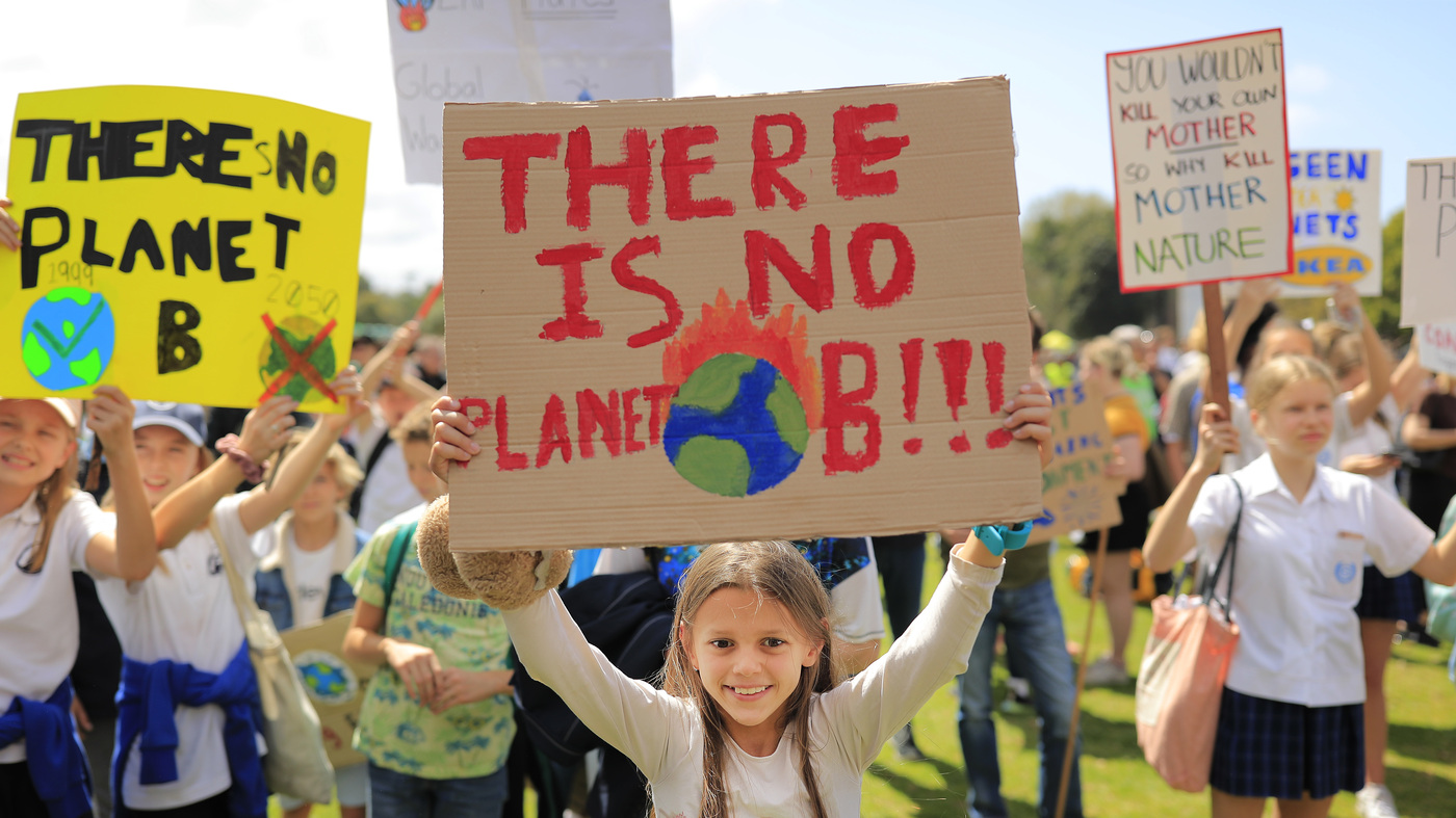Mass Protests In Australia Kick Off Global Climate Strike Ahead Of U.N. Summit
