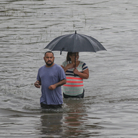 Texas Cities Try To Assess Scope Of Damage In Imelda's Aftermath