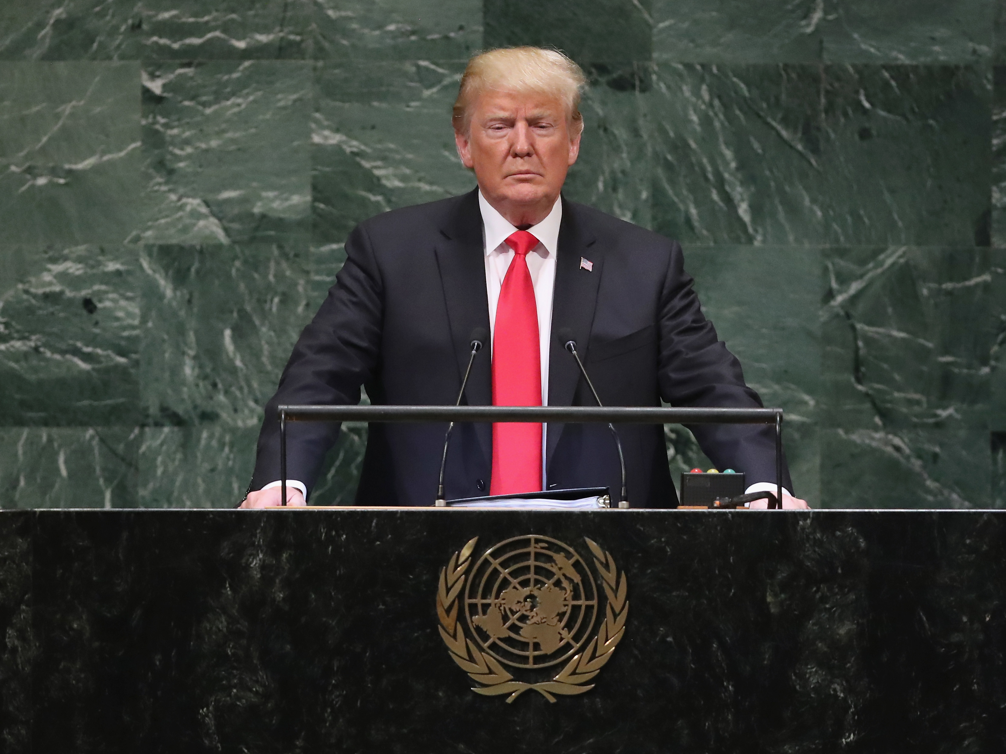 Trump Returns To The U.N. This Week Facing Growing Unease About U.S. Leadership