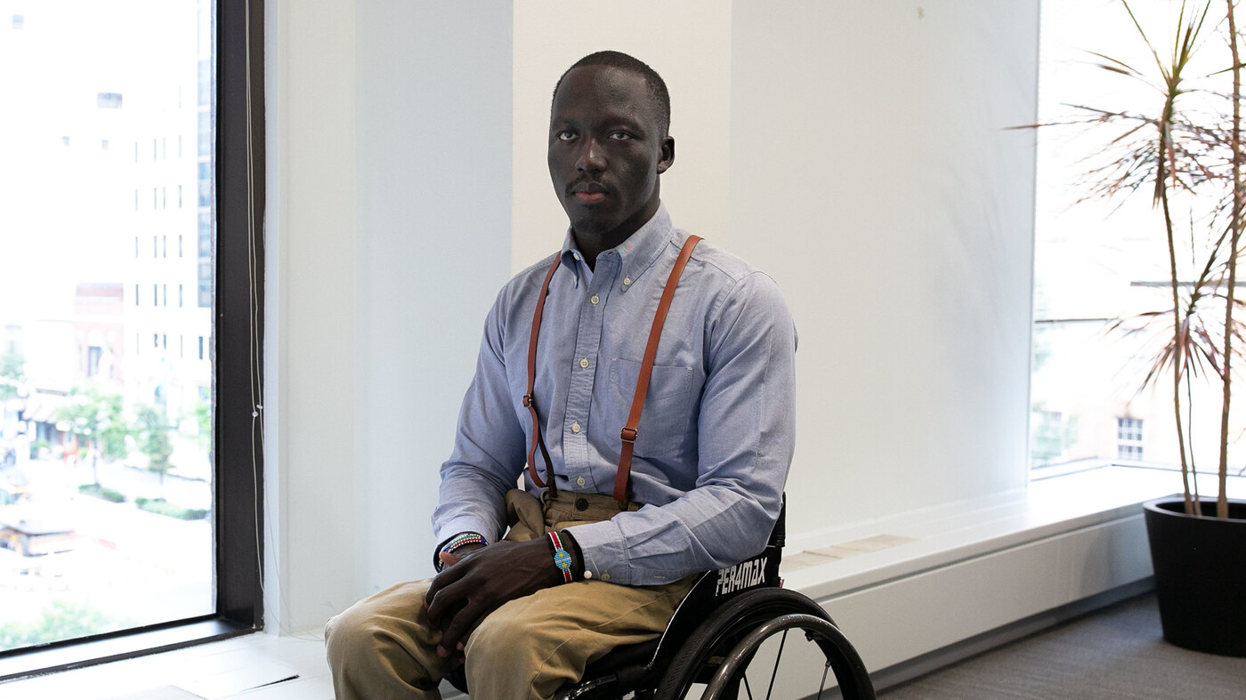 Hoop Dreams Come True For South Sudanese Wheelchair Player
