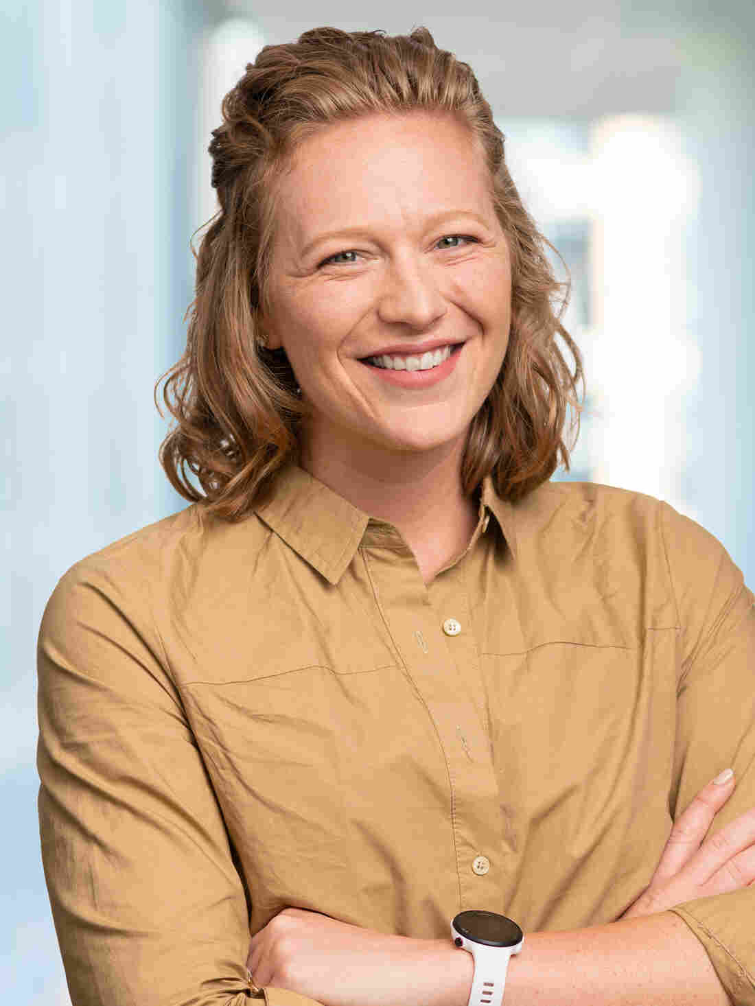 Lyndsey McKenna, photographed for NPR, 19 September 2019, in Washington DC.
