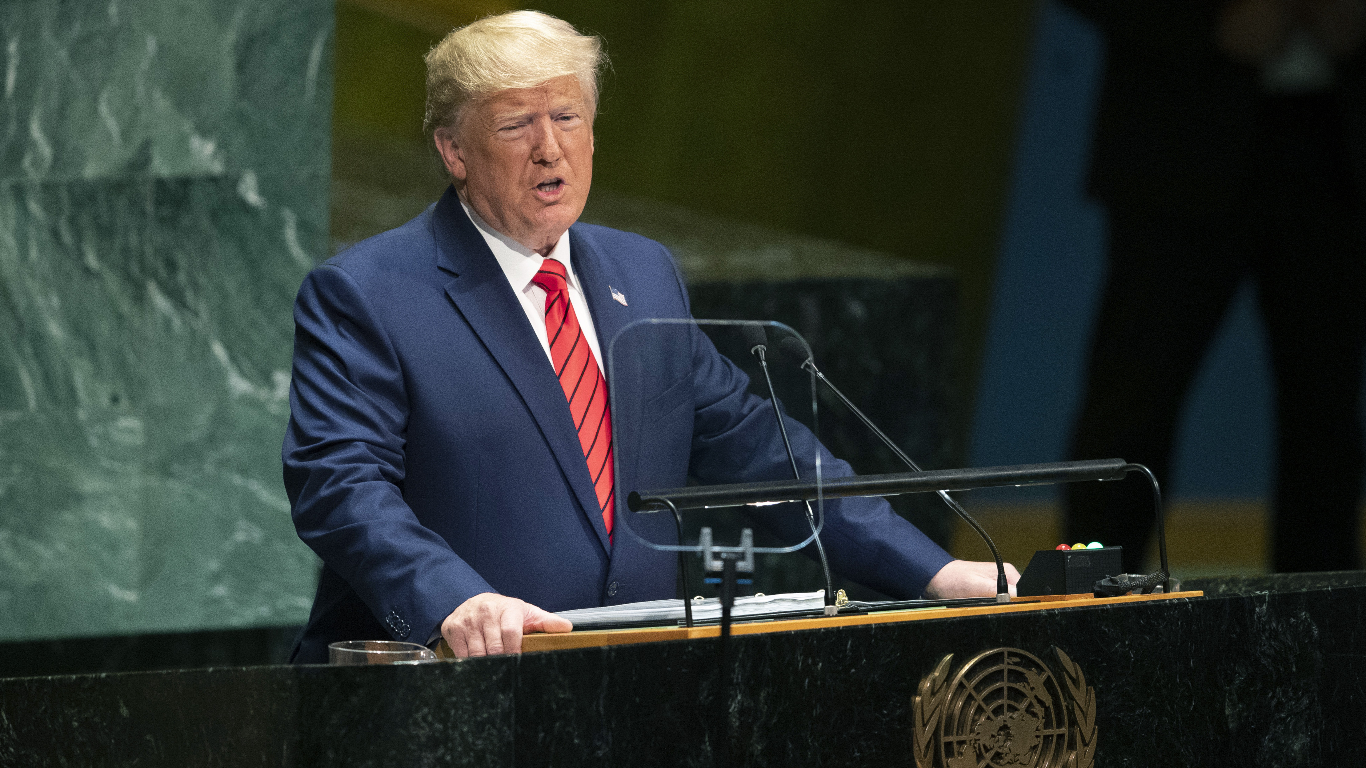 Trump calls on world to stand up to 'Iran's bloodlust'