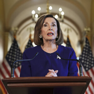 Pelosi Announces Formal Impeachment Inquiry Into President Trump