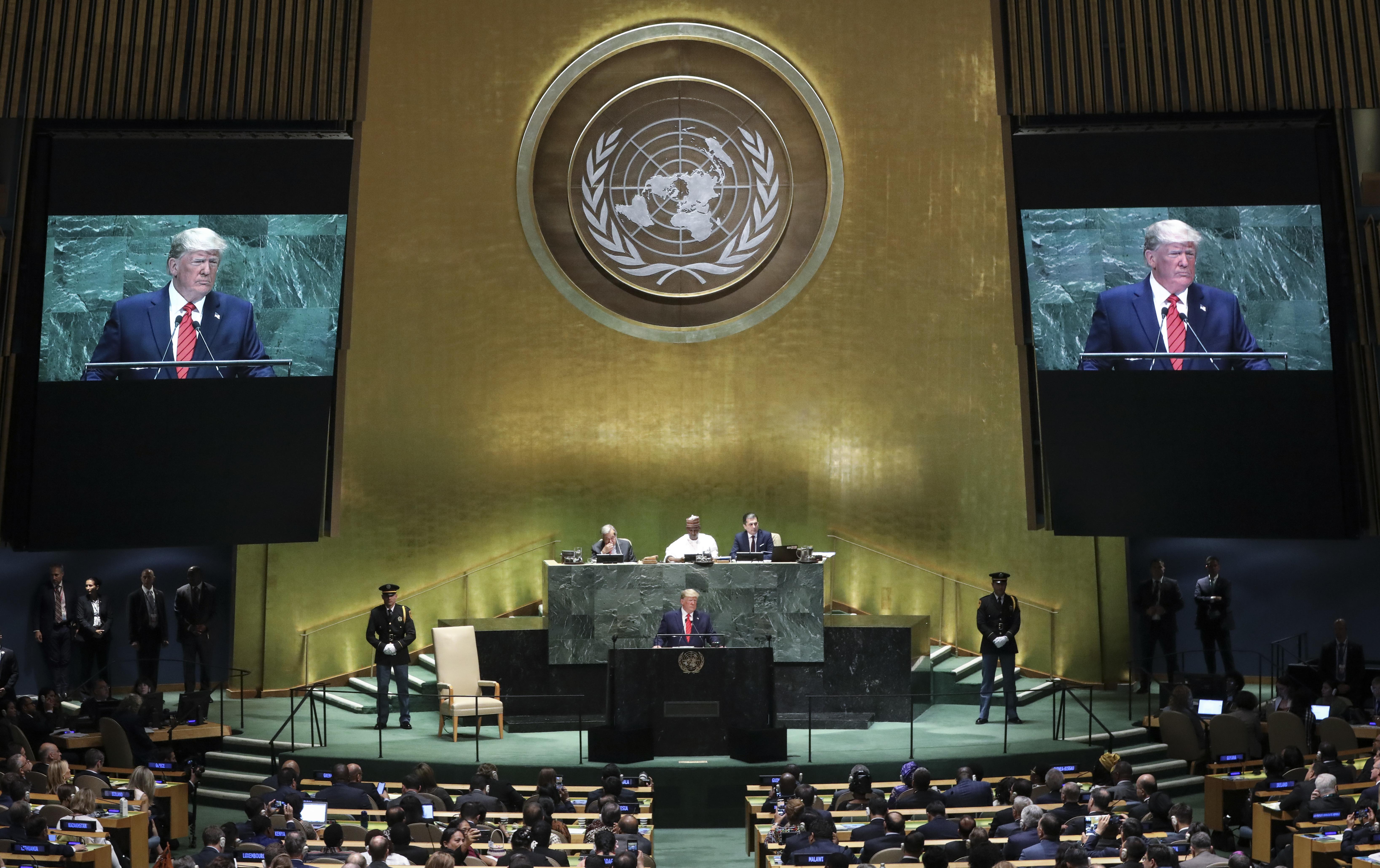 Trump set to address U.N