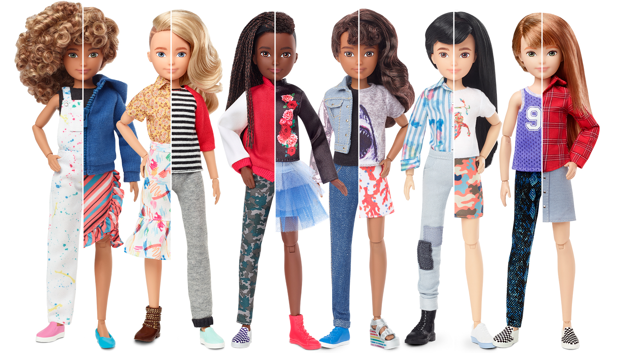 Mattel Launches New Gender-Neutral Dolls